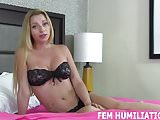 You can watch while I ride a real mans cock