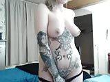 inked brit nude