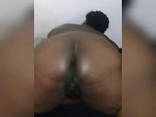 Dark skinned chubby fucked