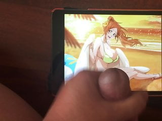 Hot Swimsuit Orihime Birthday Cum Tribute
