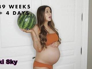 Youtuber insane pregnancy transformation...