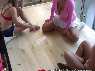 Demi, Emma & Tyler play Strip Spin-the-Bottle