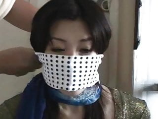 Chihiro Queen gagged Fetish and 1 bound Koganezaki Japanese