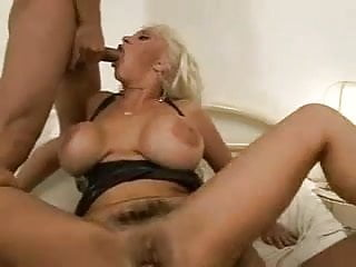 Italian mature with huge tits...