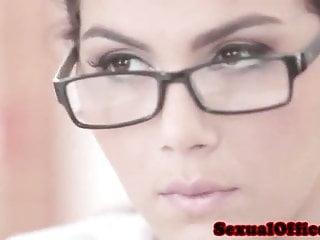 sexy horny secretary want cock...HD Sex Videos