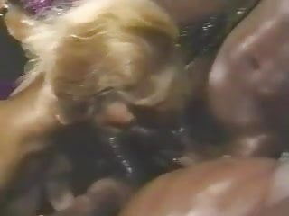 Sean Michaels and friends fuck hot white girl - retro
