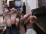 MOM AND not her  daughter FOOTJOB (by tm)