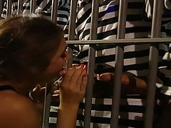 Chasey Lain Prison Group Sex (4K Upscale)