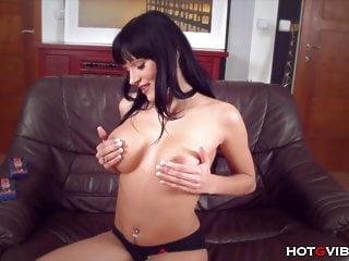 Big tits emo squirting...