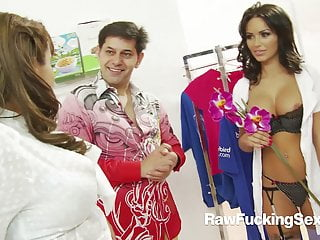 Uncooked Fucking Intercourse – Hotties Gemma Massey And Valery In Foursom