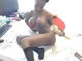 Hot Black Girl Anal Play