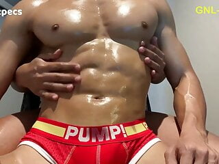 The hottest close up to the best pecs!