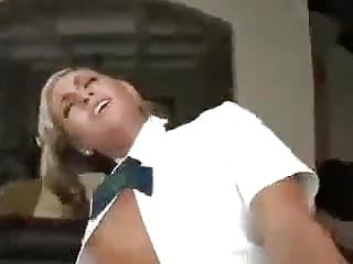 Schoolgirl gets fucked by a Older