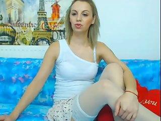 white stockings webcam girl