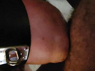 Submissive Slut Throats a Cock