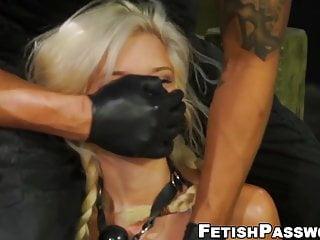 Video 895777201: halle von, fetish gagging, babe gagging, big cock gagging, fetish straight, gagged sub, hot tie dominates, hot blonde dominates, big cock cowgirl, babe destroyed