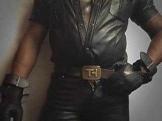 Leather nipplepig fetish ass banging preview...