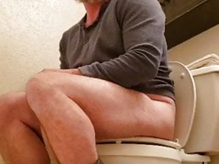 Muscle Sub sits on his potty chair