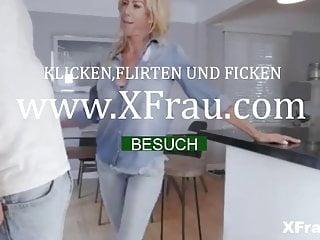 Blondine Mit Riesigen Titten Geil Gefickt