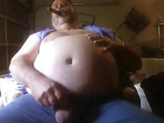Fat smoking bear 2...