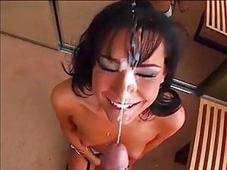 Pov Teen Facial video: Massive Facial Cumshot 145