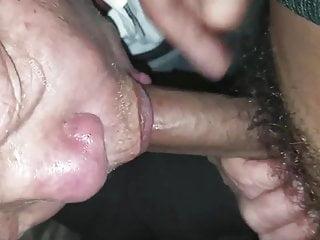 Man sucking cock in car...