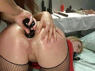 Bdsm Big Tits movie: 2 beautiful lesbians pay together