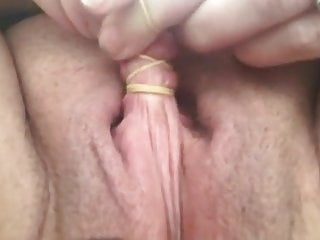 Homemade Girl Masturbating video: SBB - adoreable long labia