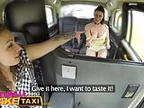 Female Fake Taxi Horny cheating bride to be wants sex