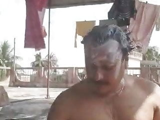 Indian Muscle Bisexual Married Man Body Show