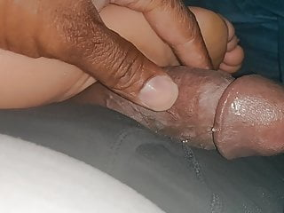 The Adult Video Experience Presents Easy foot fuck.. pre cum