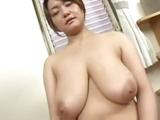 Asian Big Tits oiled and fingered (censored)