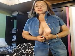 Whore in a denim dress, Angela