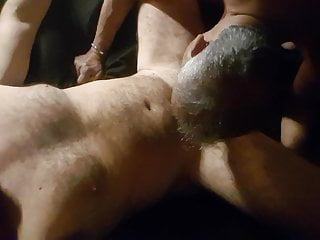 Relaxing my cock in Daddy's mouth