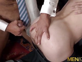 MENATPLAY Hunky Men In Suits Ass Breed In Hardcore Orgy