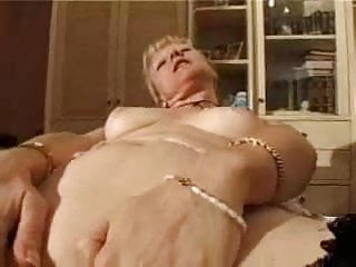 french shaved blonde granny pt6