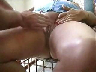 Grandpa fingering grandma untill she cums