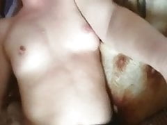 Russian cuckold films wife anal with her lover.