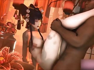 Video Nyotengu 3d Compilation HMV SFM Music DOA Hentai
