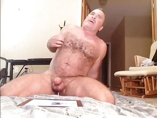 Horny and verbal muscle bear