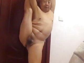 Grandpa asian...