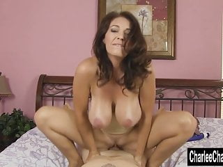 Milf charlee chase gets full service massage...