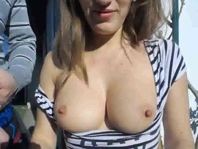 Couple Fucking Slim Small Tits Brunette Hot Ass Closeup Doggy