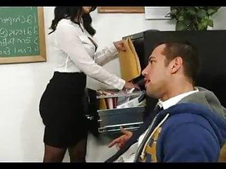 Big Tits Facial Milf video: Modern Mrs. Professor