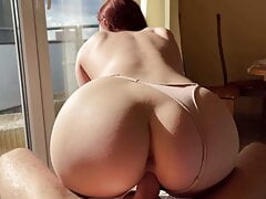 Amateur Couple Cowgirl Sex and Blowjob KleoModel