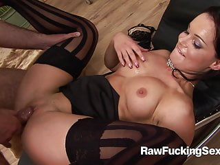 Raw fucking sex hot lady jizzed...