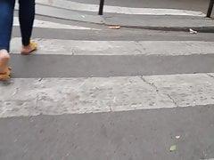 Candid Sandales hot jaune Paris Gare