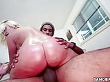 Big Oiled Ass Britney Amber Gets Banged