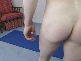 Nudist exercise...