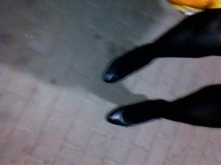 cold night on heels (hard night for boy whore)